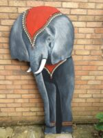 6ft high back drop for circus themed party