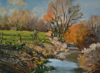 River Nene Kislingbury